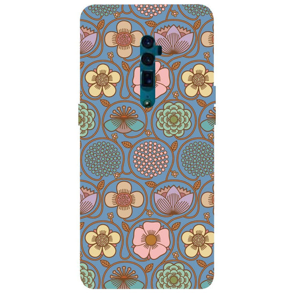 Flowers Oppo Reno 10X Zoom Back Cover-Hamee India