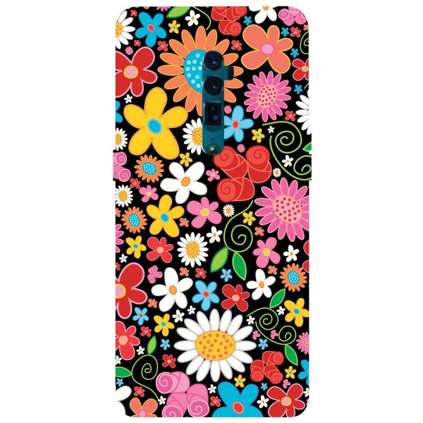 Bloom Oppo Reno 10X Zoom Back Cover-Hamee India