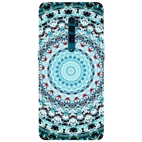 Mandala Oppo Reno 10X Zoom Back Cover-Hamee India