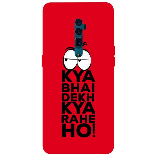 Kya Oppo Reno 10X Zoom Back Cover-Hamee India