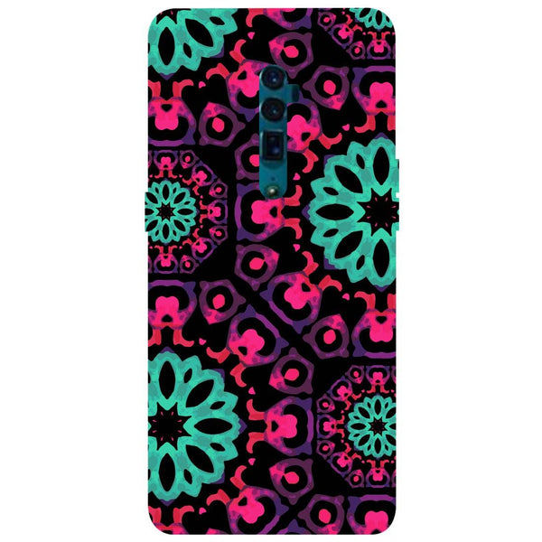 Mandala Print Oppo Reno 10X Zoom Back Cover-Hamee India