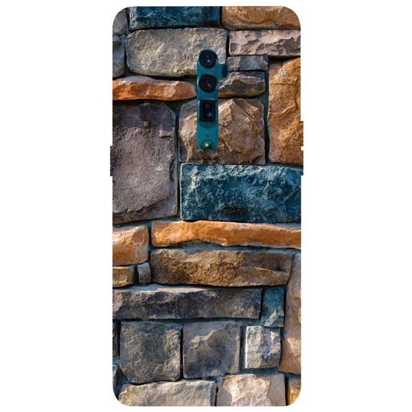 Bricks Oppo Reno 10X Zoom Back Cover-Hamee India