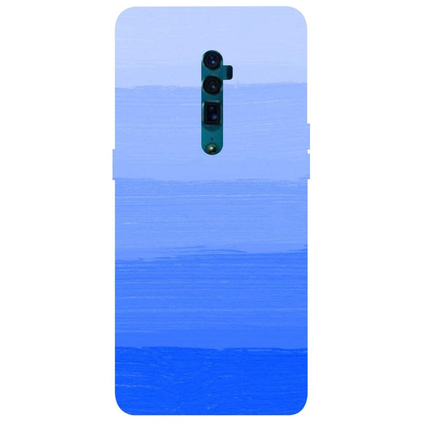 Blue Oppo Reno 10X Zoom Back Cover-Hamee India