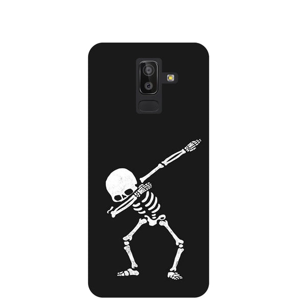 Dab Samsung Galaxy J8 Back Cover-Hamee India