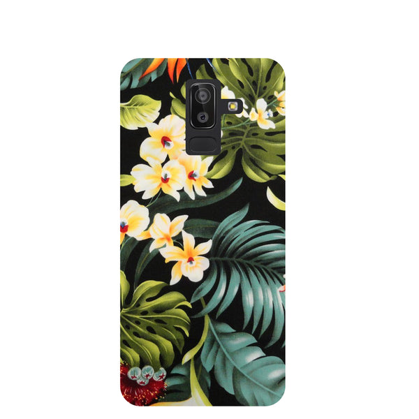 Tropical Bloom Samsung Galaxy J8 Back Cover-Hamee India