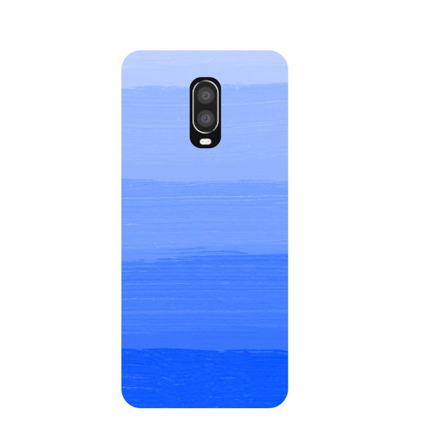 Blue Blush OnePlus 6T Back Cover-Hamee India