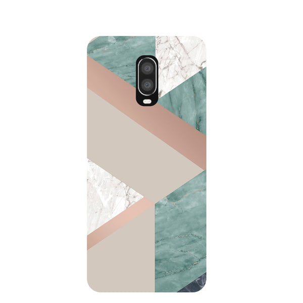 Marble Streak OnePlus 6T Back Cover-Hamee India