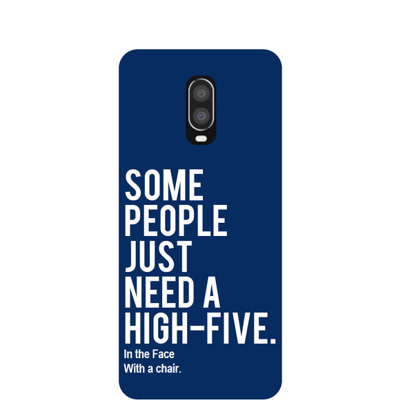 High Five OnePlus 6T Back Cover-Hamee India