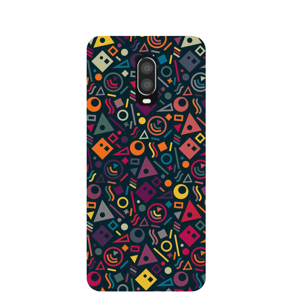 Doodling OnePlus 6T Back Cover-Hamee India