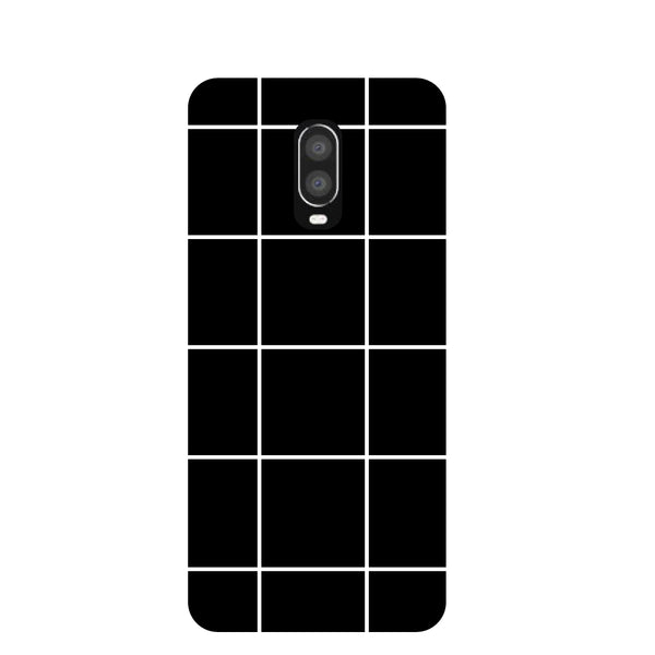 Checks OnePlus 6T Back Cover-Hamee India