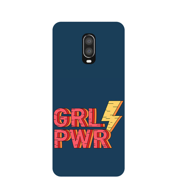 Grl Pwr OnePlus 6T Back Cover-Hamee India