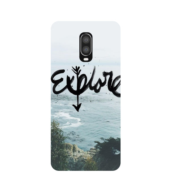 Explore OnePlus 6T Back Cover-Hamee India
