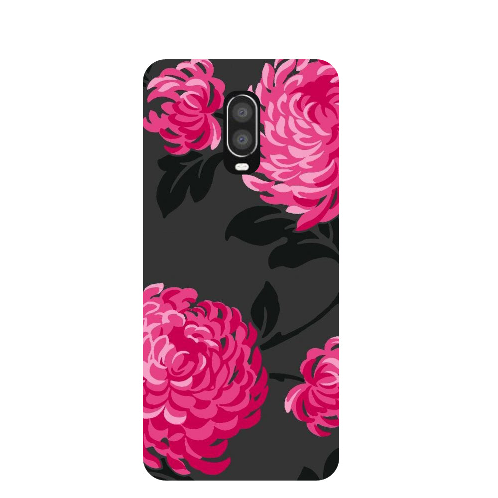 Bloom OnePlus 6T Back Cover-Hamee India