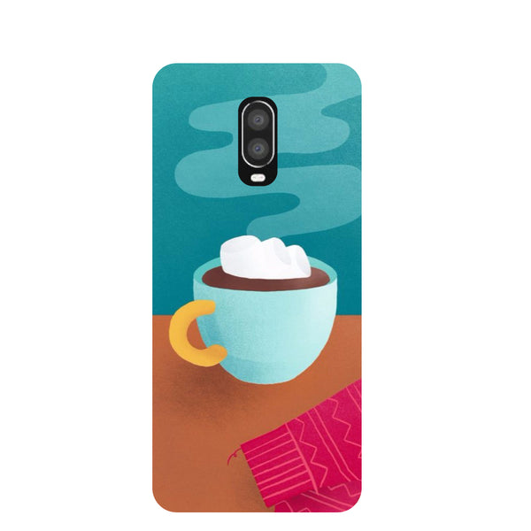 Cosy Cup OnePlus 6T Back Cover-Hamee India