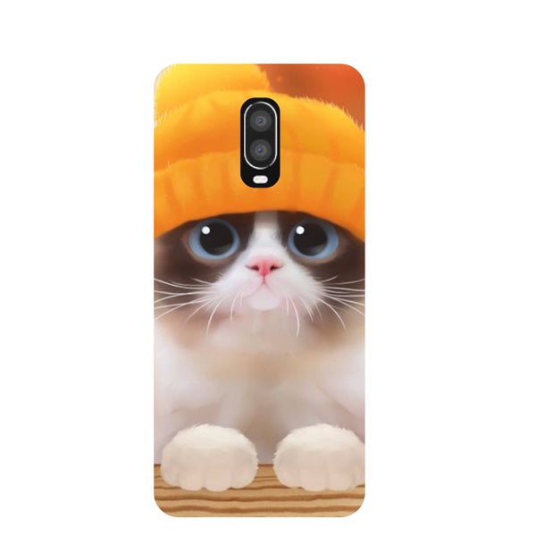 Chill Cat OnePlus 6T Back Cover-Hamee India