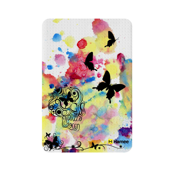 Hamee Butterfly in Colored Background Designer 5000 mAh Power Bank - Hamee India