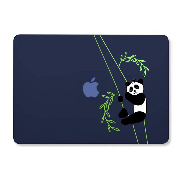 "Panda Sleeping - Blue MacBook Air 13"" Retina (2018) Cover"