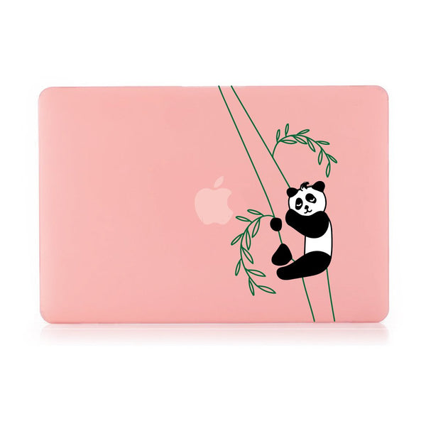 "Panda Sleeping - Pink MacBook Air 13"" Retina (2018) Cover"