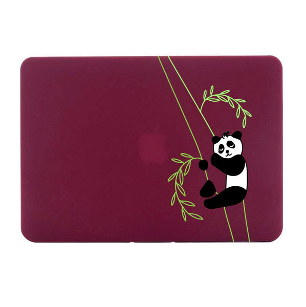 "Panda Sleeping - Red MacBook Air 13"" Retina (2018) Cover"