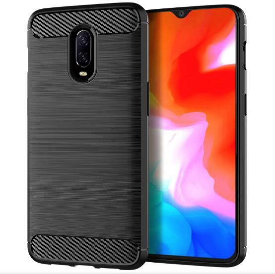 Black TPU Case - OnePlus 6T-Hamee India