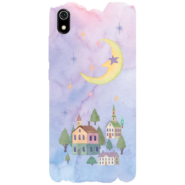 Starry Night Redmi 7A Back Cover