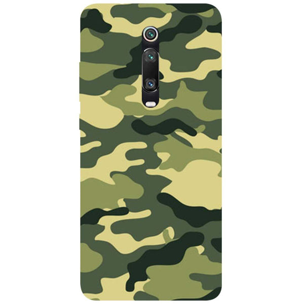 Green Camouflage Redmi K20 Pro Back Cover
