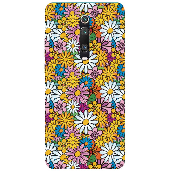 Colourful Flowers Redmi K20 Pro Back Cover