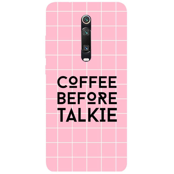 Coffee Talkie Redmi K20 Pro Back Cover
