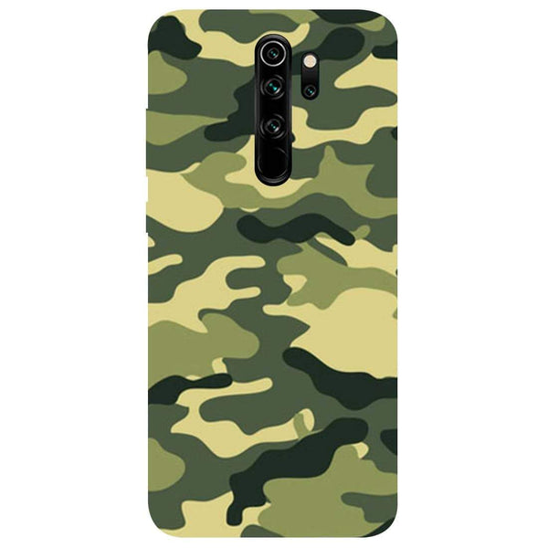 Green Camouflage Redmi Note 8 Pro Back Cover