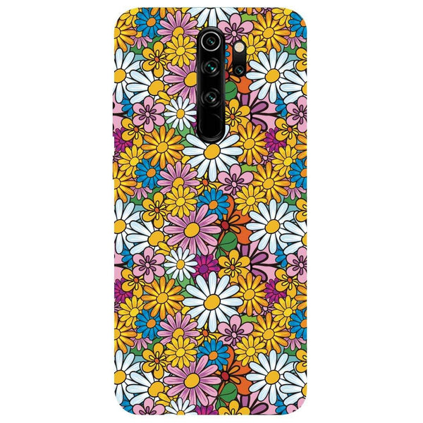 Colourful Flowers Redmi Note 8 Pro Back Cover