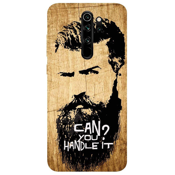 Handle Beard Redmi Note 8 Pro Back Cover