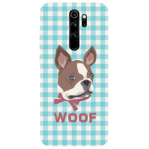 Woof Redmi Note 8 Pro Back Cover