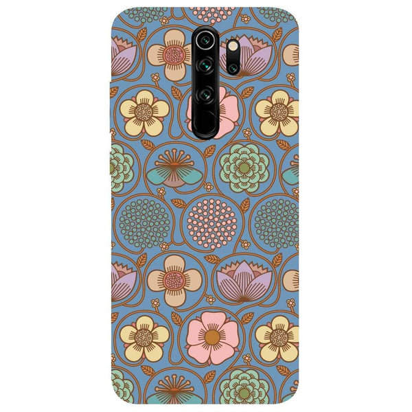 Flowers Redmi Note 8 Pro Back Cover