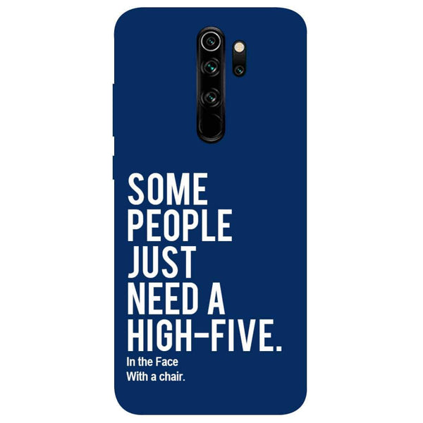High Five Redmi Note 8 Pro Back Cover