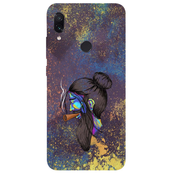 Cool Beard Redmi Note 7 Back Cover-Hamee India