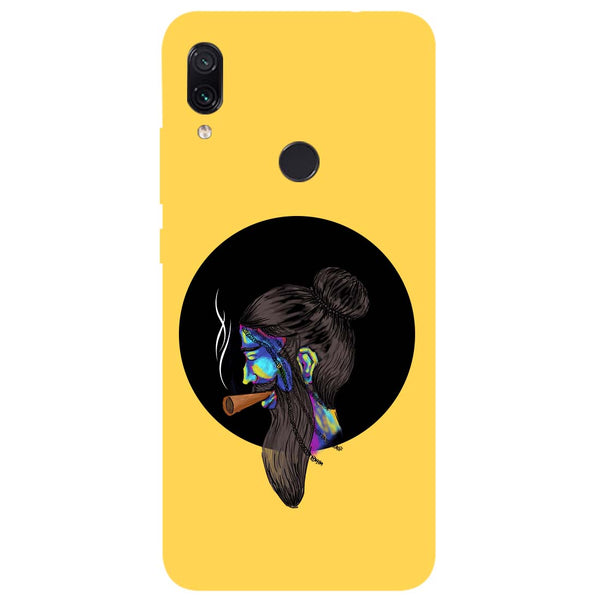 Bright Beard Redmi Note 7 Back Cover-Hamee India