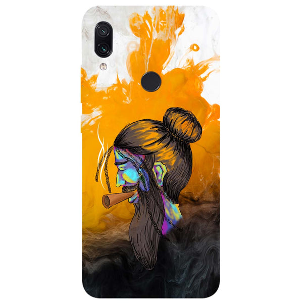 Splash Beard Redmi Note 7 Back Cover-Hamee India
