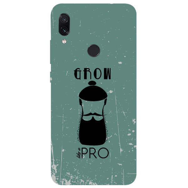 Grow Pro Redmi Note 7 Back Cover-Hamee India