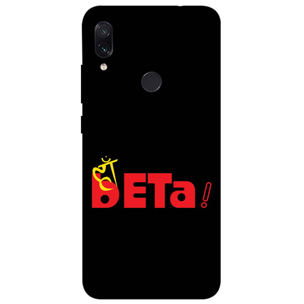 Haan Beta Redmi Note 7 Back Cover-Hamee India