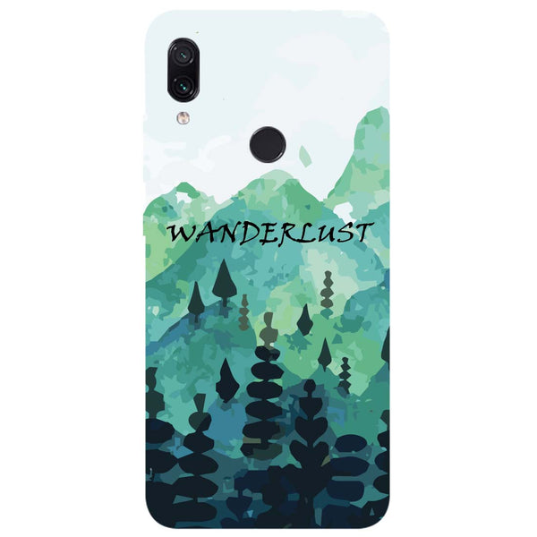 Wanderlust Redmi Note 7 Back Cover-Hamee India