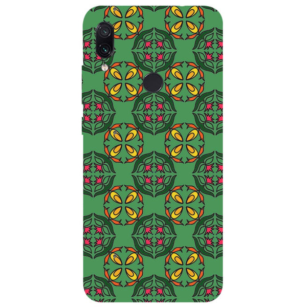Ethnic Motif Redmi Note 7 Back Cover-Hamee India