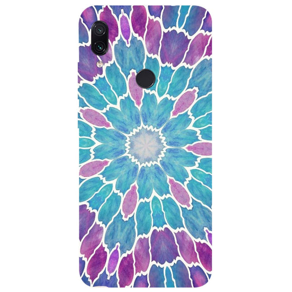 Mosaic Redmi Note 7 Back Cover-Hamee India