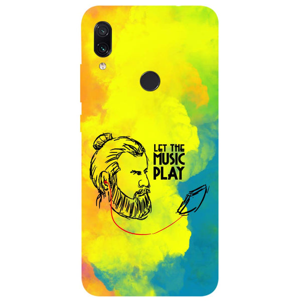 Beard Music Redmi Note 7 Back Cover-Hamee India