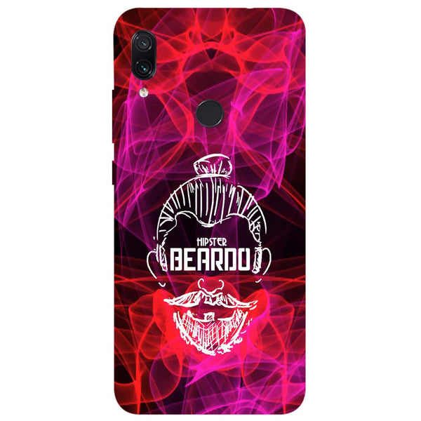 Beardo Redmi Note 7 Back Cover-Hamee India