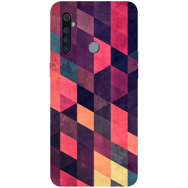 Pink Shades RealMe 5 Pro Back Cover