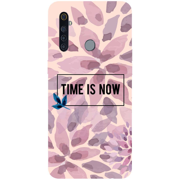 Time Is Now RealMe 5 Pro Back Cover