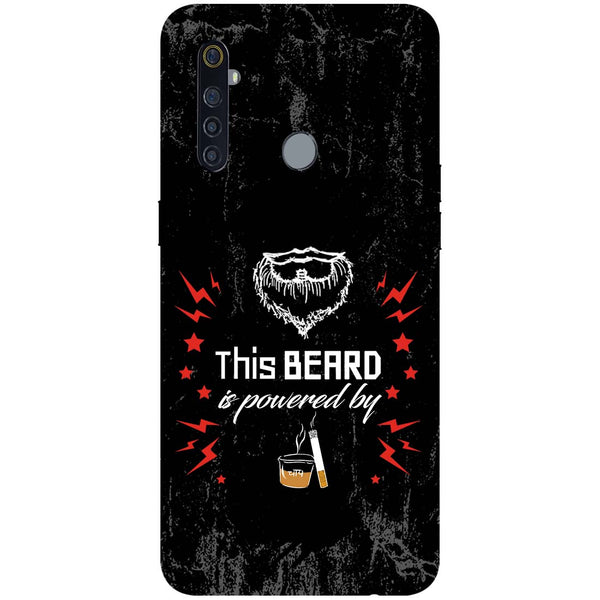 Beard Power RealMe 5 Pro Back Cover