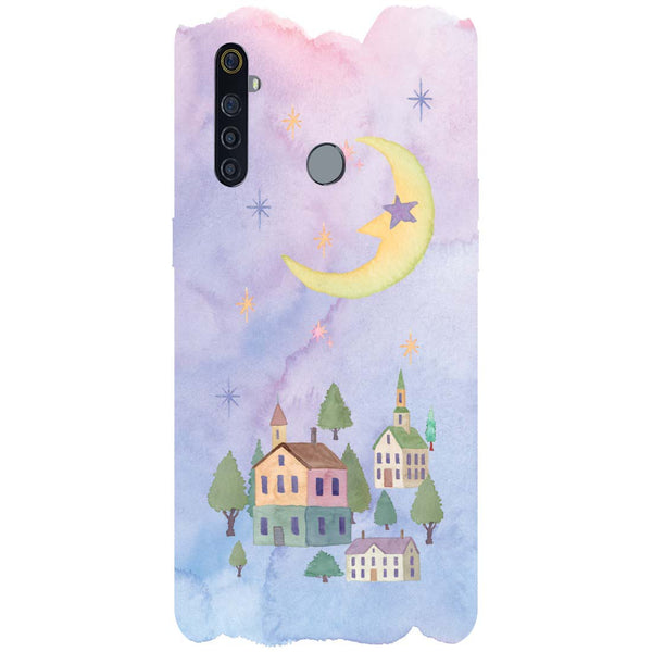 Starry Night RealMe 5 Pro Back Cover
