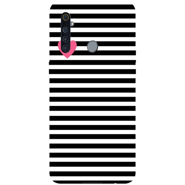 Stripes RealMe 5 Pro Back Cover