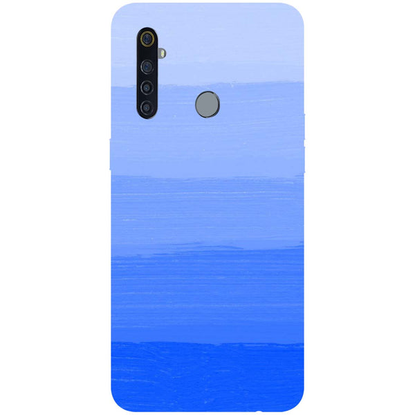 Blue RealMe 5 Pro Back Cover